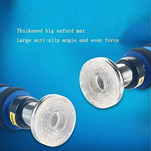 ドアジム エクササイズバー ハンギング、スポーツおよびフィットネスエクササイズ62〜100センチメートル(青)のための専門エクストラワイド耐え、パッド入りのハンドルではありませんネジチンアップバー - アップバーを引いて 室内トレーニング器具 (Size : 100-150cm)