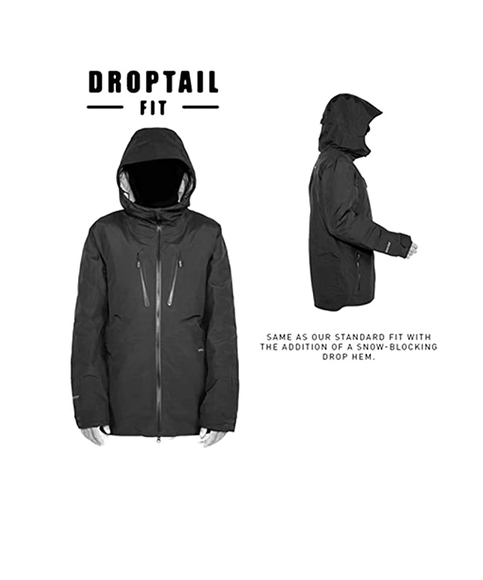 VOLCOM deadly stones giacca snowboard uomo black Freeride