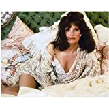 Jaclyn Smith in lingerie on bed 8 x 10 Inch Photo