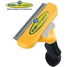"Long Hair deShedding Brush for Large Dogs 51-90 Lbs 4"" Inch Edge Blade FURminator Tool Comb"