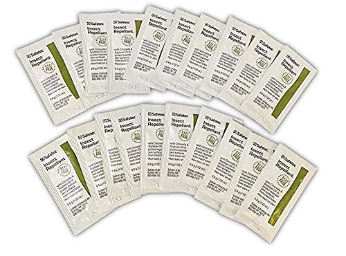 Safetec Insect Repellant Packets, Natural DEET-Free - 100 Packs