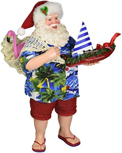 Department 56 Possible Dreams Santa Claus Shipshape Clothtique Christmas Figurine