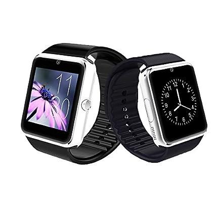 AWOW Smart Watch GT00 BlackSilver: Amazon.es: Electrónica