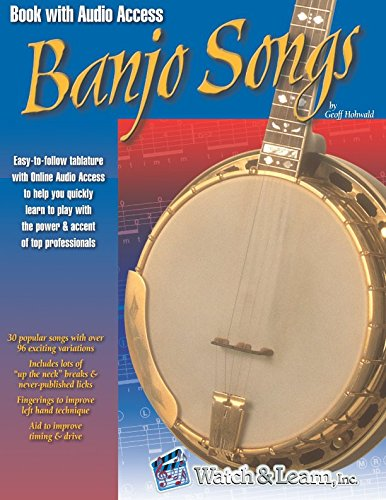 Ultimate Banjo Songbook - Banjo Songs Book with Audio Access