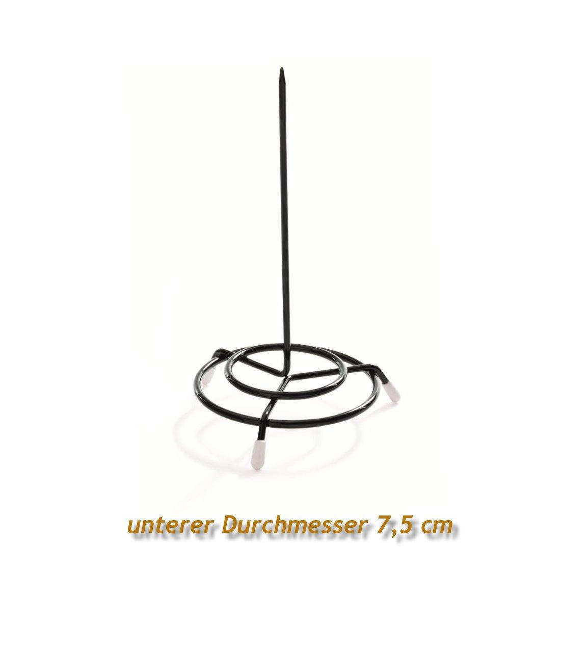 Black Kerafactum/® Receipt Holder Notes Tidy Picker Picker Bonskewer Paper Skewer Steel Wire Skewer