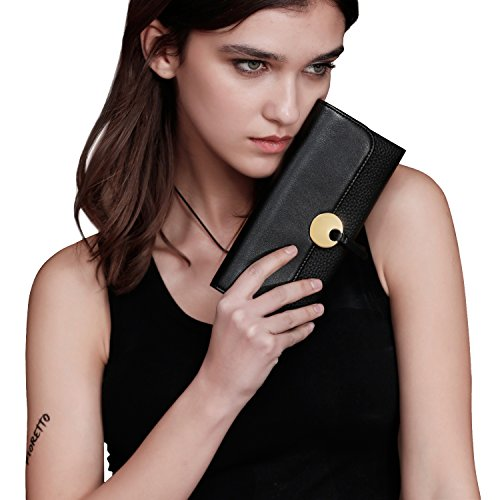Italian Leather Clutch - 6