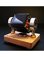Zonne-energie speelgoed Tiny Mendocino Motor magnetic suspension Solar toy Scientific physics