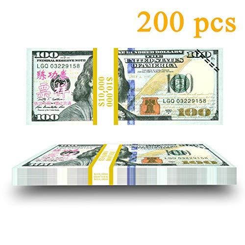 p Money Copy Money Double Sided Print 100 Dollar Bills Stack ()