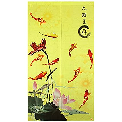Amazon com: Traditional Chinese Style Double Leaping Fish Pattern