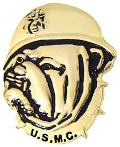 USMC Bulldog Small Hat Pin