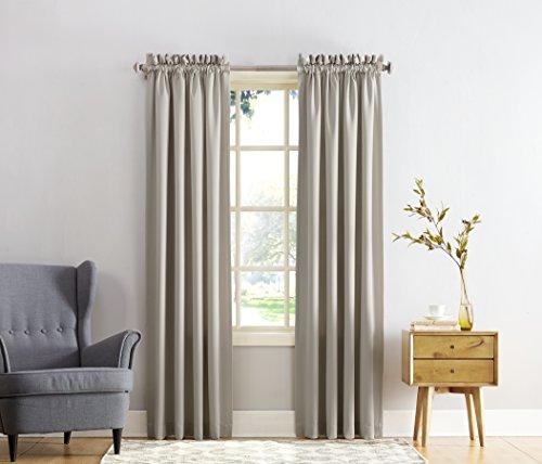 Sun Zero Barrow Energy Efficient Rod Pocket Curtain Panel, 5