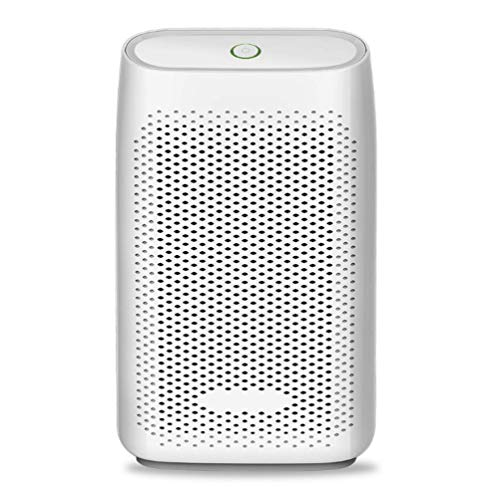 IMFFSE Small Dehumidifier, Household Moisture Proof Mini Portable Intelligent Dehumidifier, Suitable For Bedroom, Kitchen, Wardrobe, White. by IMFFSE