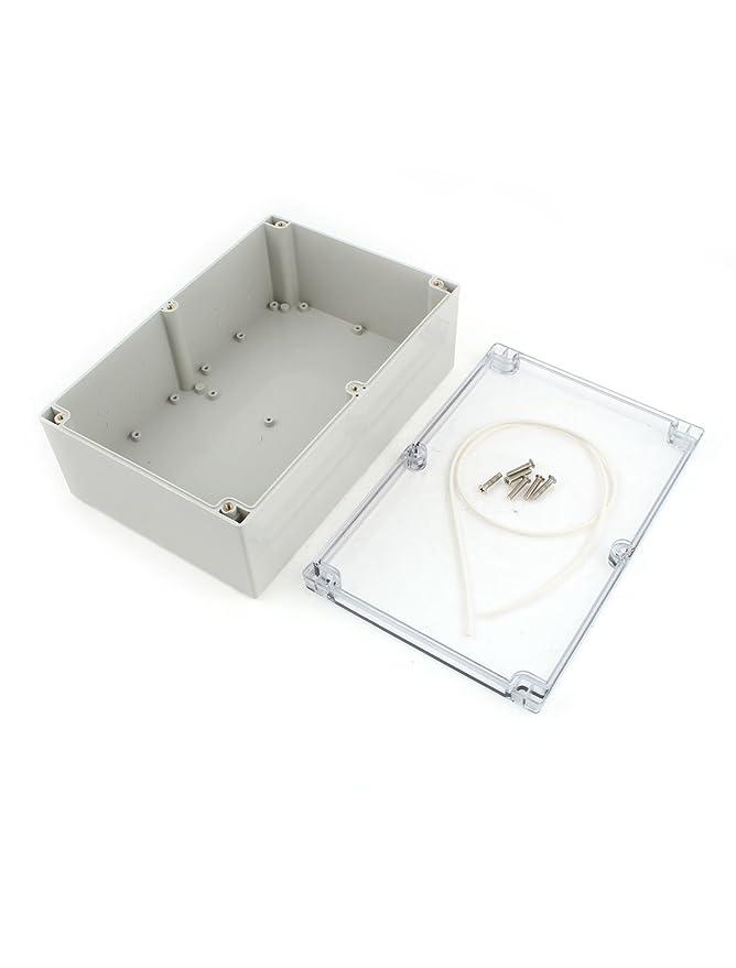 240mmx160mmx90mm Caso Junction Protección de la caja impermeable de plástico bricolaje - - Amazon.com