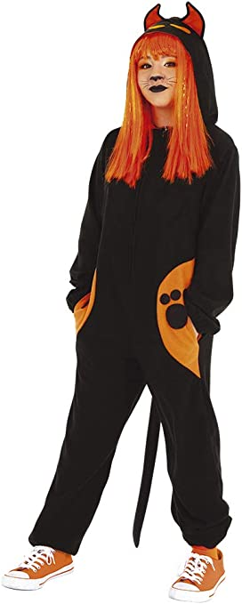 Haunted House- Gato Negro Disfraz Kigu Black Cat Inf (Rubies S8531 ...