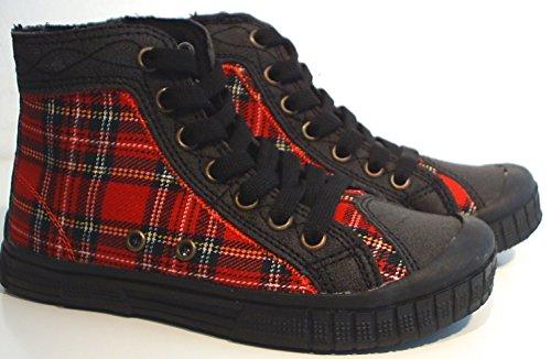 Flipper & Lopaka high Top Sneaker Reißverschluss