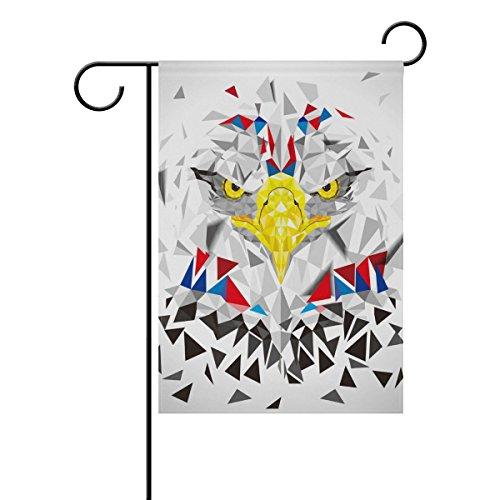 Mohado Creative Abstract Industrial Style Eagle Garden Flag