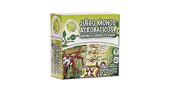 Amazon.com: Tachan Set – Monkeys and Clubs (CPA Toy Group ...