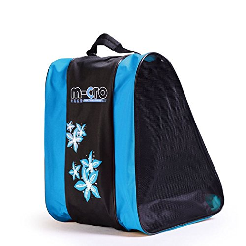 - SHENGXIA Ice Roller Skate Bag Skating Shoes Bag Blue