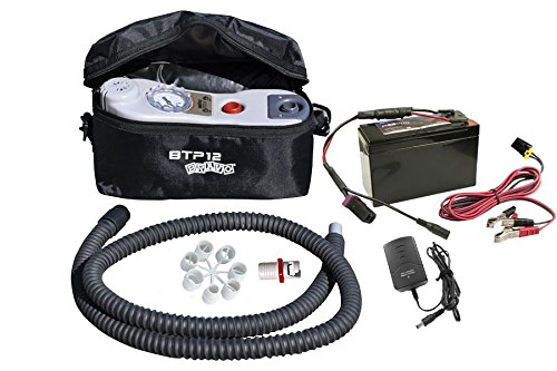 Bravo BTP Mano Electric Pump Kit with Battery for Inflatables by Sea Eagle