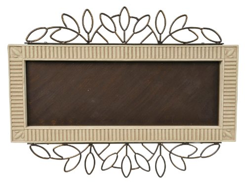 Grasslands Road 5-Digit Address Plaque Holder, 17-Inch (Ceramic Address Plaque)