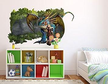 Klebefieber Wandtattoo Dragons Astrid Und Sturmpfeil B X H 70cm X