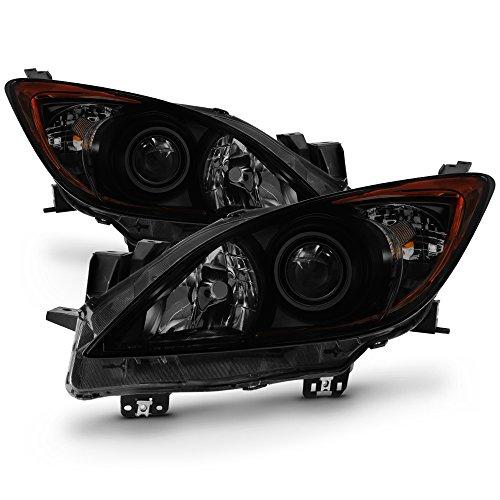 Compare Price To 2012 Mazda 3 Black Headlights