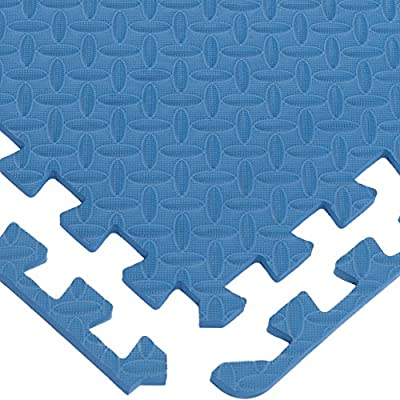 Multipurpose Anti-Fatigue Exercise Puzzle Mat Tiles