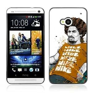 YOYOSHOP [Cool Rasta Chillin] HTC One M7 Case