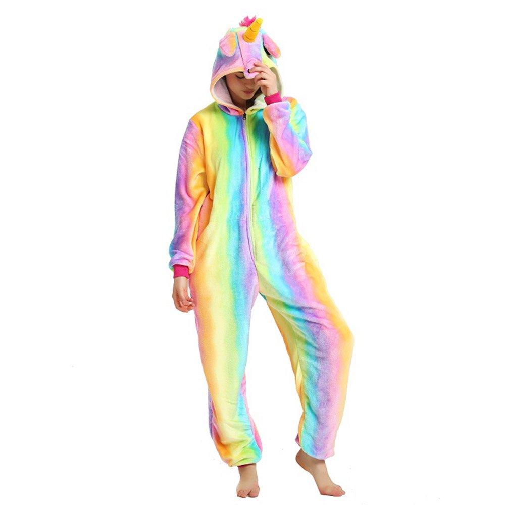 Misslight Unicorno Animali Pigiama Unisex Cosplay Carnevale Costume Pigiami camicie da notte per adulti e bambini