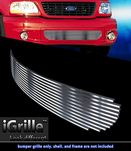 Stainless Steel eGrille Billet Grille Grill For 99-03 Ford F-150 Lightning Bumper Insert