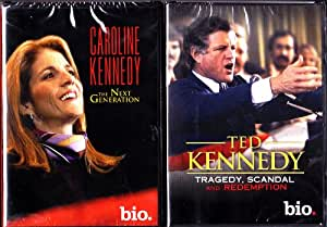 Ted Kennedy Biography , Caroline Kennedy Biography : Kennedy 2 Pack Collection
