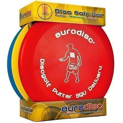 1 opinioni per Eurodisc Disc Set per Principianti SQU II Putter Midrange Driver Approvato PDGA