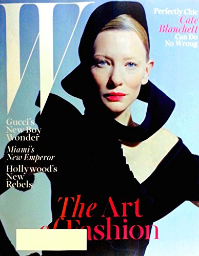 W Magazine December 2015 Cate Blanchett Cover Gucci's Boy Wonder, Art of Fashion