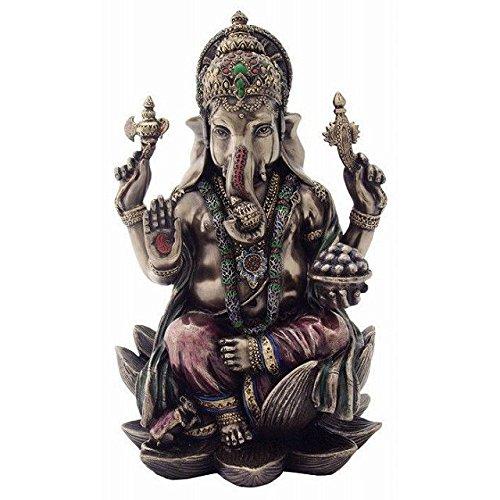 Veronese (ヴェロネーゼ) ガネーシャ ヒンドゥー教 象の神 成功 置物 フィギュア B01N0G4NUM