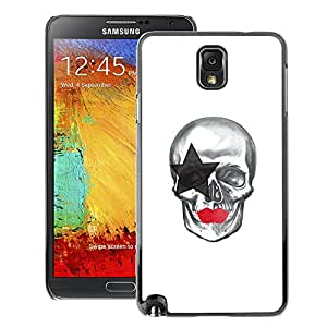 Snap-on Series Teléfono Carcasa Funda Case Caso para Samsung Note 3 N9000 , ( Star Skull )