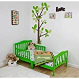 Dream On Me Classic Design Toddler Bed (Lime Green) by Dream On Me