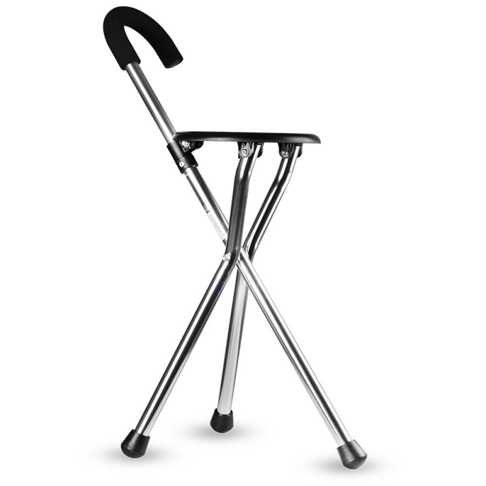 XINFUKL Alter Mann Klappt Einen Rutschfesten Sessel Mit Stuhl