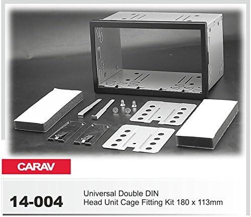 2003-2008 8P//8PA CARAV 40-177 2-DIN Marco de pl/ástico para Radio para Audi A3