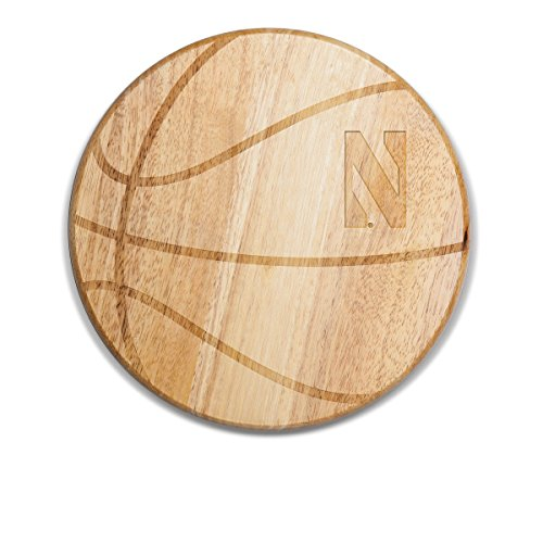 NCAA Northwestern Wildcats Free Throw 12-1/2-Inch Cutting Board