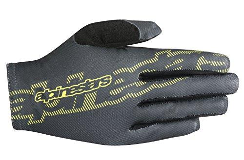 Alpinestars Men's F-Lite Gloves, Dark Shadow Yellow Fluo, XX-Large (Shadow Apparel Dark)