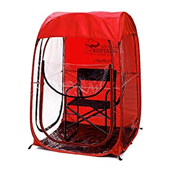 Image of Camping Shelters Under the Weather MyPodXL 1 Person Pop-up Weather Pod. The Original, Patented WeatherPod