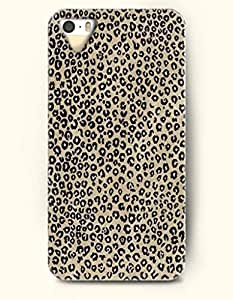 Phone Case For iPhone 5 5S Cute Black And Beige Leopard Pattern - Hard Back Plastic Case / Animal Print / SevenArc ...
