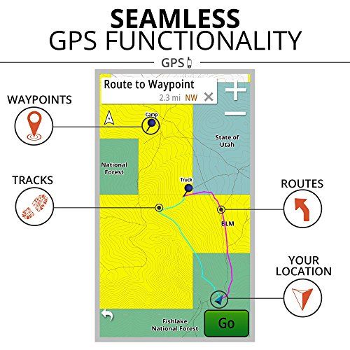 onXmaps HUNT Colorado: Digital Hunting Map For Garmin GPS + Premium Membership For Smartphone and Computer Color Coded Land Ownership 24k Topo Hunting Specific Data