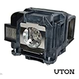 For ELPLP78 Replacement Projector Bulbs with Housing (Uton)