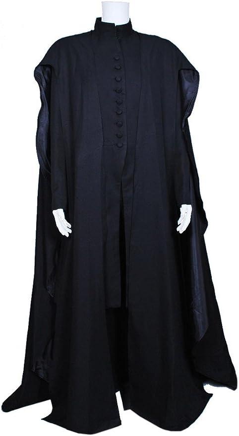 dreamdance Harry Potter Cosplay disfraz de Severus Snape Negro ...