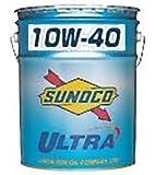 スノコ(SUNOCO)オイル Ultra 10W-40 内容量:20L 規格:SN/CF4 粘度:10W-40 鉱物油