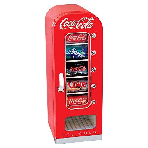 Koolatron Coca Cola 10-Can Retro Vending Fridge