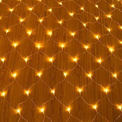 LED Red Luz De Navidad del Árbol Jardín De La Luz Exteriores Fiesta De Cumpleaños De La Lámpara De Baja Tensión Decoración 3x2m 192 Lights: Amazon.es: Deportes y aire libre