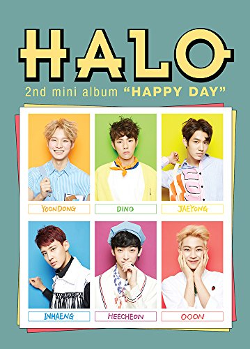halo-happy-day-2nd-mini-album-cd-with-folded-poster