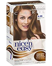 Clairol Nice'n Easy Permanent Hair Color, 6.5g Lightest Golden Brown, 1 Count
